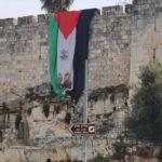 ¿Por qué una gran bandera palestina cubría los muros de la ciudad de Jerusalén?