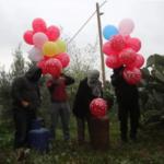 Racimo de artefactos explosivos aterrizó cerca de Jerusalén