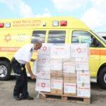 Israel envió suministros a China para enfrentar al coronavirus