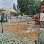 14 cohetes de Gaza en menos de una hora; impactos contra patio de juegos infantiles