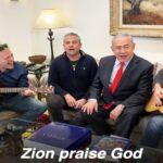 """El primer ministro israelí, Benjamin Netanyahu, canta el Salmo 147: """"Jerusalén alaba a Dios"""""""