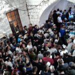 150 israelíes rezan en la tumba de José en Shjem- Hubo disturbios
