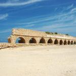 Esta playa de Israel posee un acueducto del Imperio romano