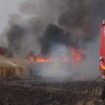 Globos incendiarios provocan decenas de incendios en el sur de Israel