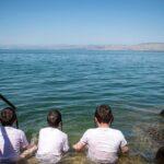 El mar de Galilea sorprende con el nivel más alto de septiembre en 27 años