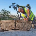 Excavadoras encuentran palacio 'magnífico' en la capital