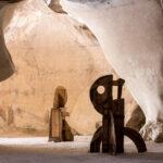 Esta cueva de Israel se ha convertido en una galería de arte