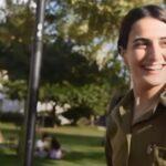 Los soldados cristianos de las fuerzas de defensa de Israel