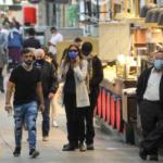 La infección por coronavirus sigue siendo alta en Israel: 9.388 casos nuevos