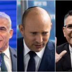 Sa'ar le dice a Yair Lapid que deje que Naftali Bennett sea el primer ministro