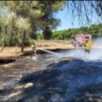Globos incendiarios provocan incendios en el sur en medio de tensiones en la marcha de la bandera