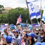 Manifestación contra el antisemitismo atrae a 3.000 personas en muestra de unidad en el Capitolio en Washington