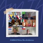 Legisladores latinoamericanos recordaron a las víctimas de la AMIA