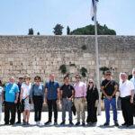 Los embajadores recorren Israel para comprender mejor sus numerosos desafíos de seguridad