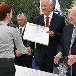 Cuatro proyectos clasificados galardonados con el Premio de Defensa de Israel
