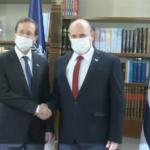 El presidente Herzog y el Primer Ministro Bennett sostienen la primera reunión de trabajo