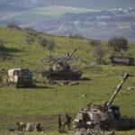 Las FDI lanzan ejercicio de artillería en tierras en disputa en la frontera libanesa