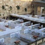 Vuelven a imponer el distanciamiento en el Muro Occidental, pero aún se permiten hasta 10000