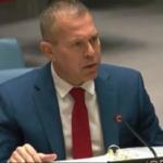 El embajador Erdan critica al Consejo de Seguridad de la ONU